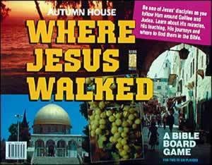 Where Jesus Walked Bible Board Game